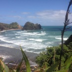 Road Trip Number 1: Piha Beach