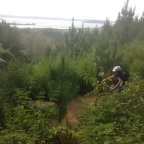 How I survived a day of mountain biking with Alana